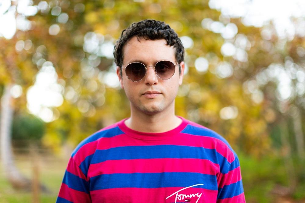 A photo portrait of DIY pop artist Rick Moon; courtesy of Juan Camilo Dávila.