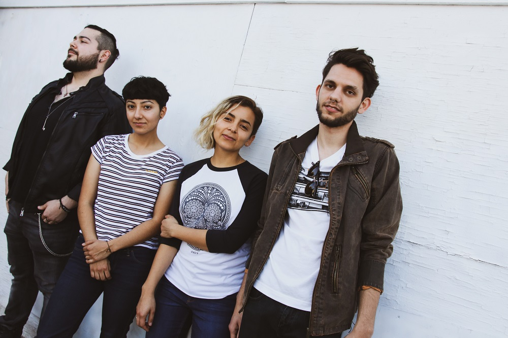 Trendsetting with the expanded band (and brand) of LA's trends. (press photo courtesy of the band)