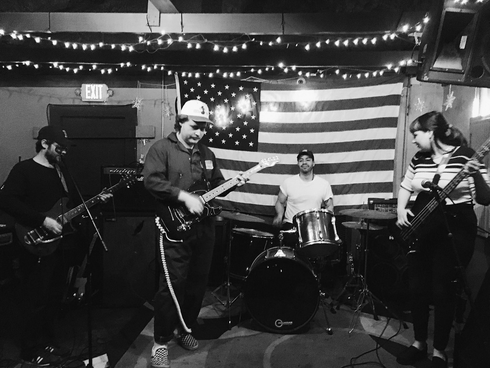 Soft Animal live at Old Arabi Bar in New Orleans; press photo courtesy of the band.