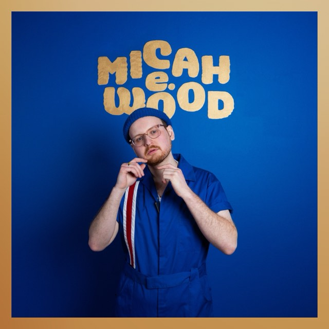 Cover art for Micah E. Wood's self-titled album; courtesy of the artist(s).