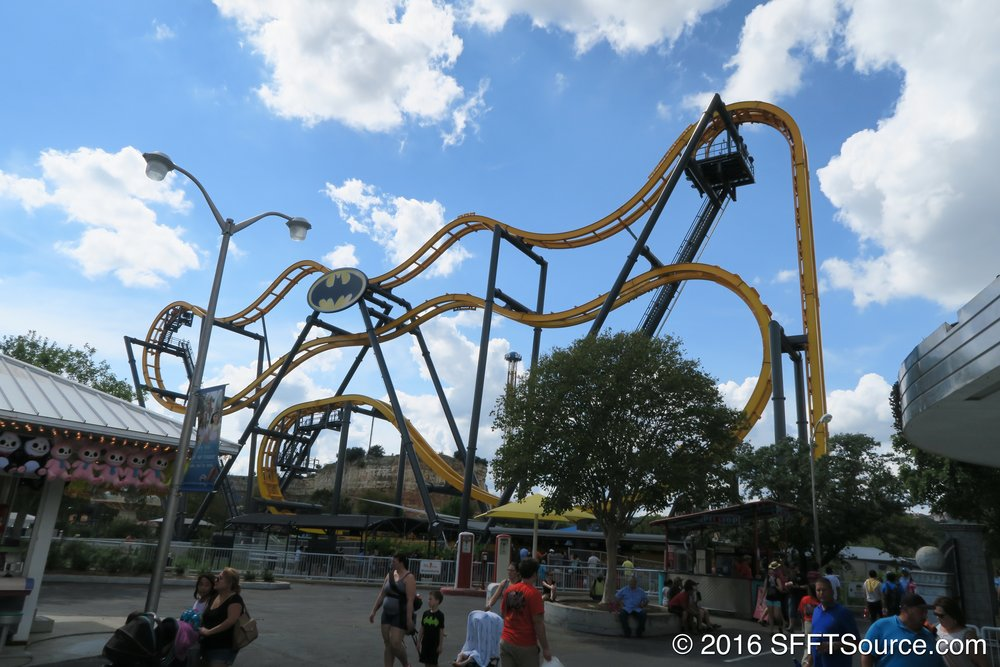 This ride is the first of its kind in the world.