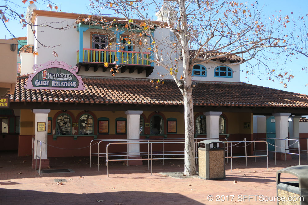 Guest Relations is located just outside the park entrance.