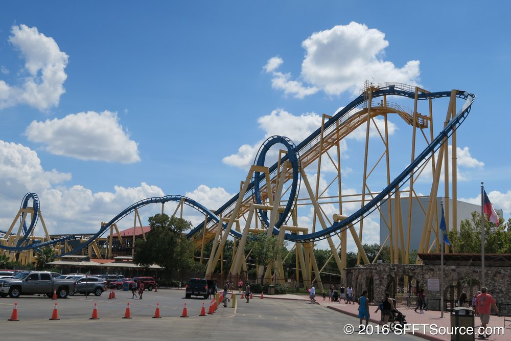 Goliath from the park's parking lot.