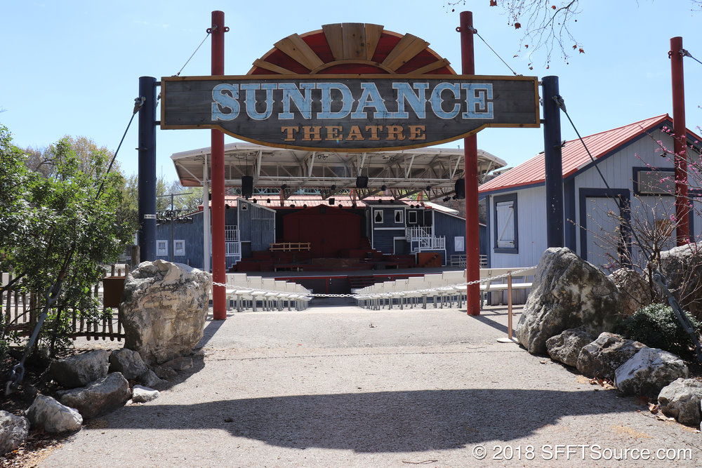 Sundance Theatre is an outdoor performance venue.