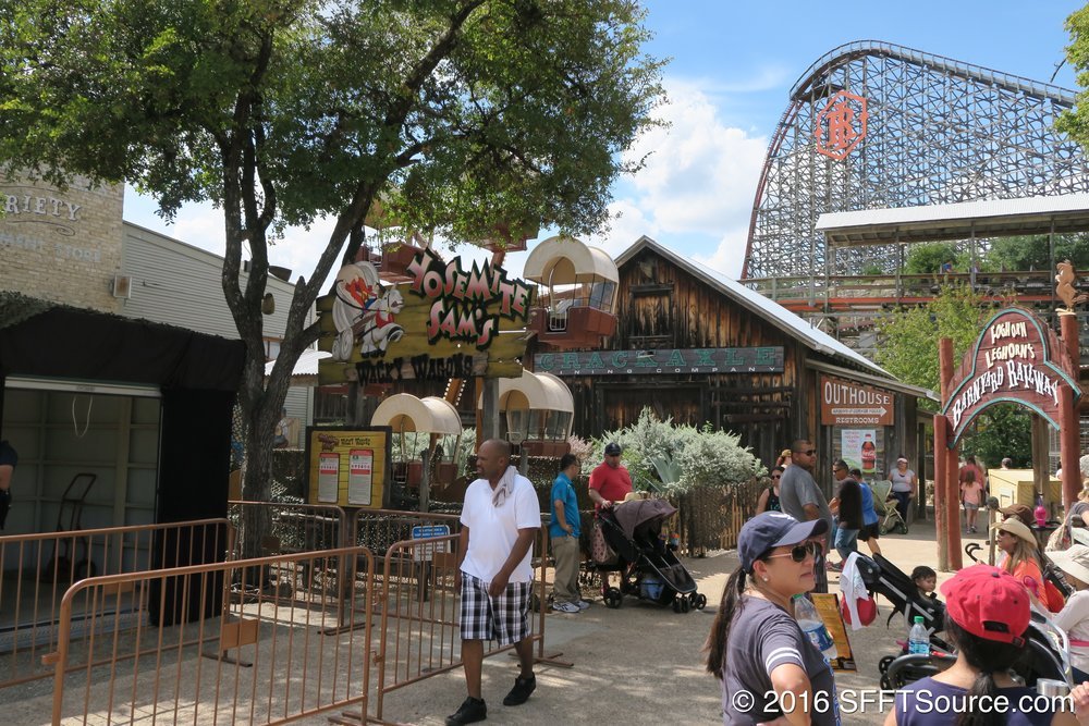 Wacky Wagons is located near Iron Rattler.