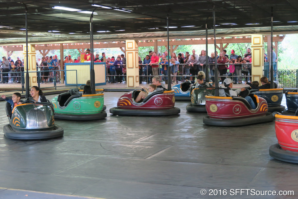 Fender Bender is a classic bumper cars ride.