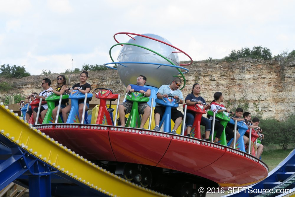 Guests begin their journey on Hurricane Force 5.