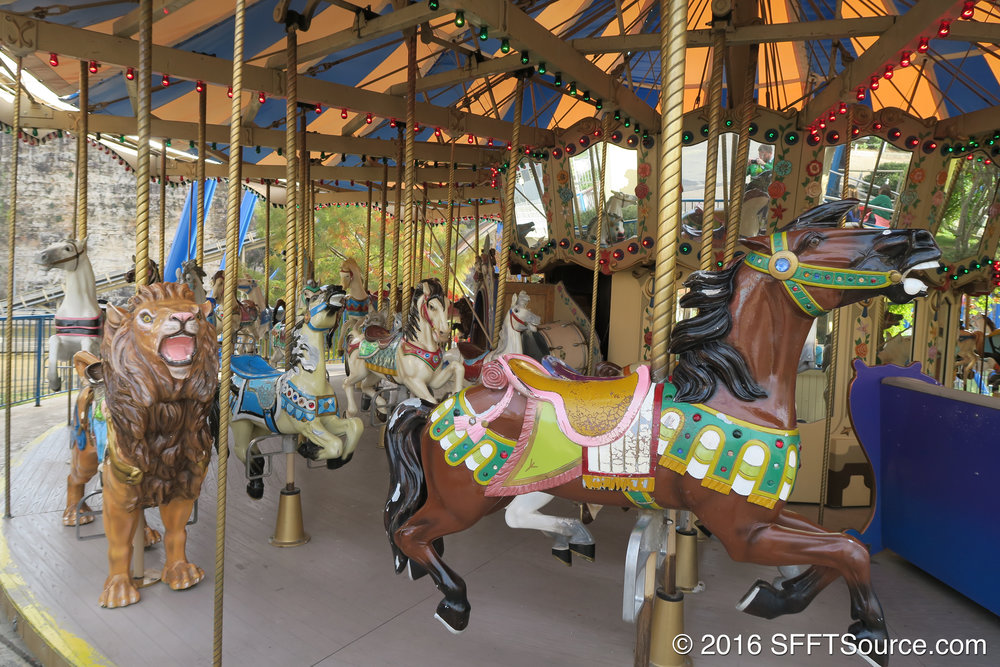 Grand Carousel is a classic carousel attraction.