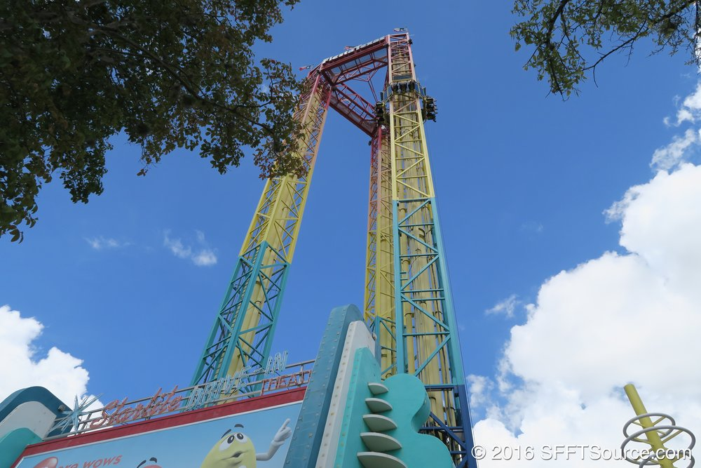 Scream is made up of three operational towers.