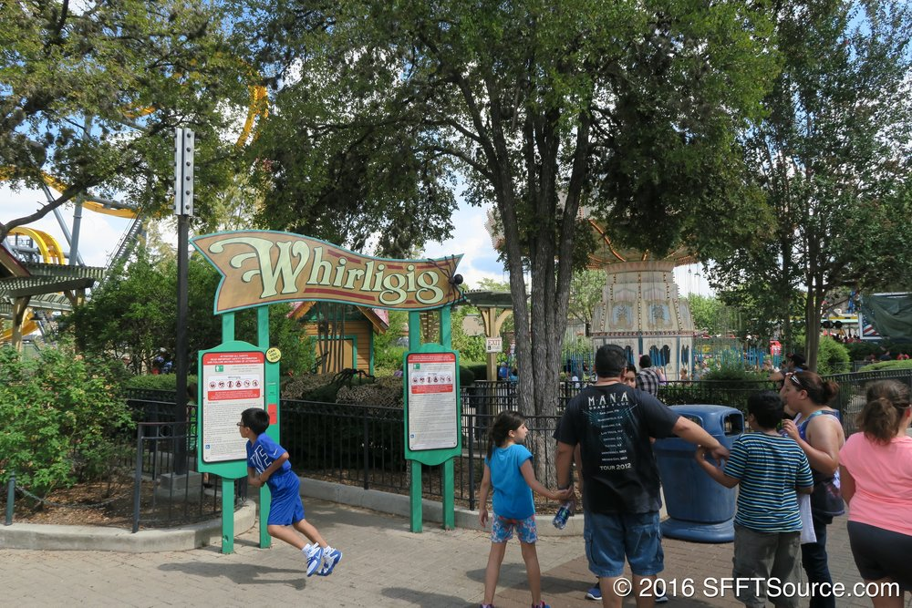 The entrance to Whirligig.