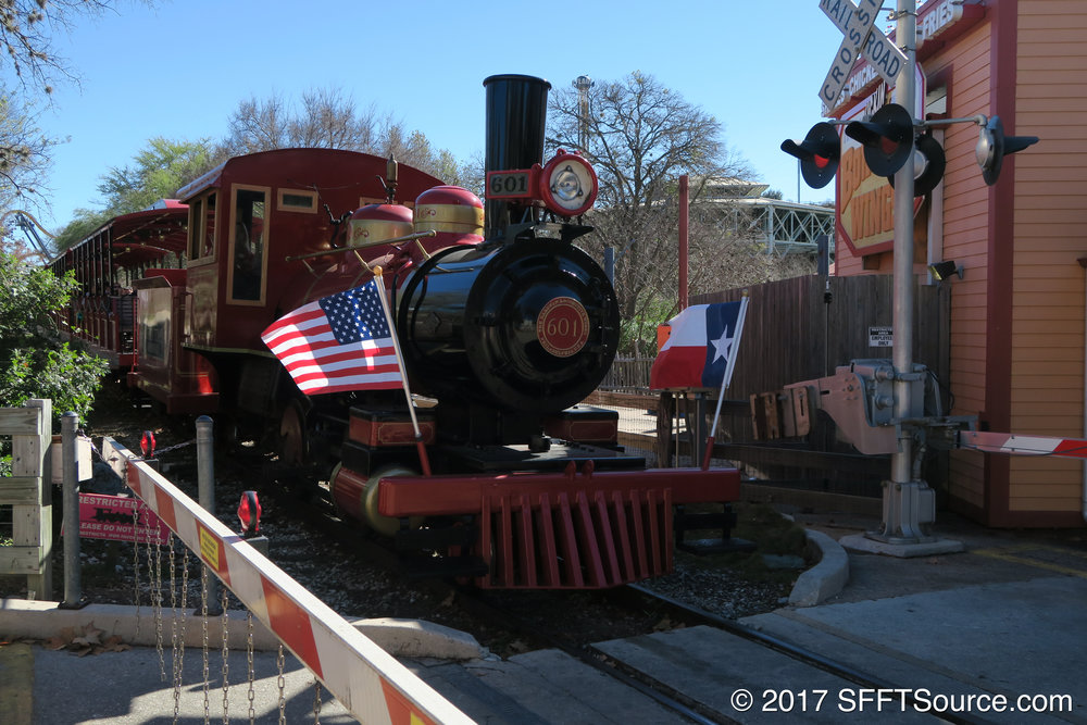 The Fiesta Texas Railroad