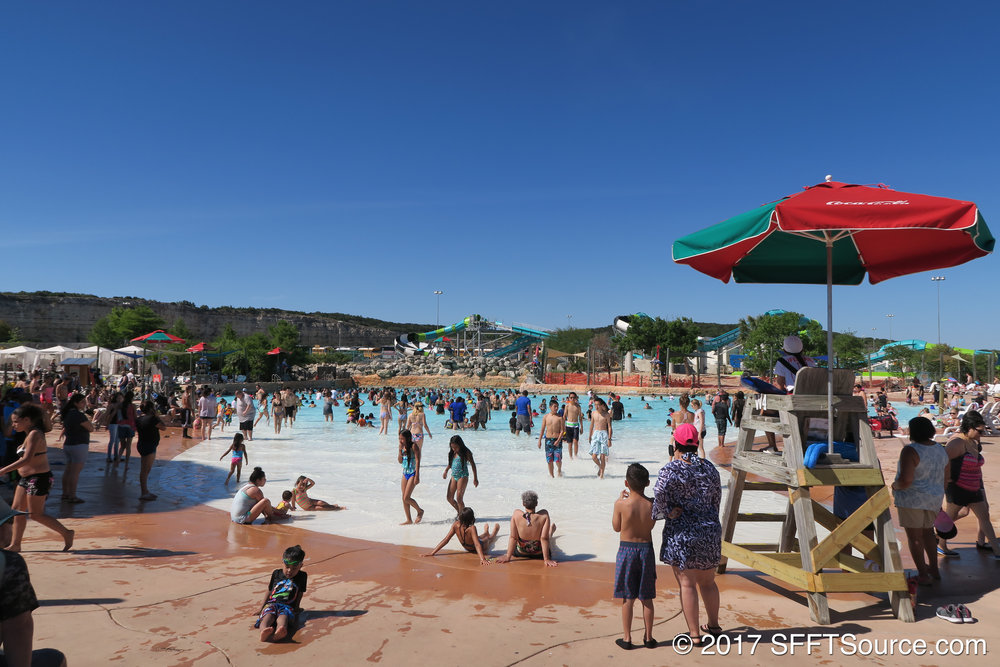 Lone Star Lagoon is a huge wave pool.