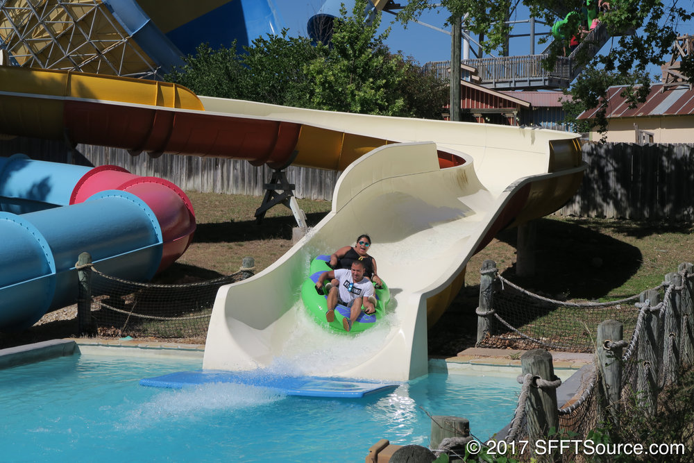Guests can choose between single or double rafts.