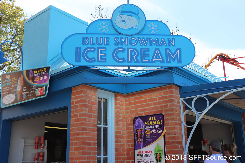 Blue Snowman Ice Cream is located in Rockville.