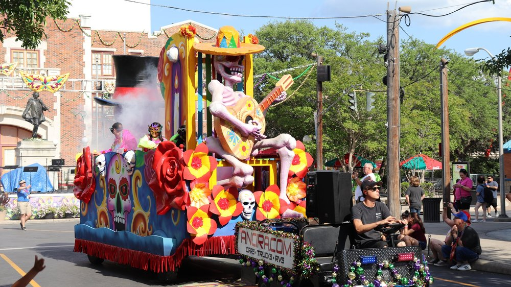 The Mardi Gras Parade
