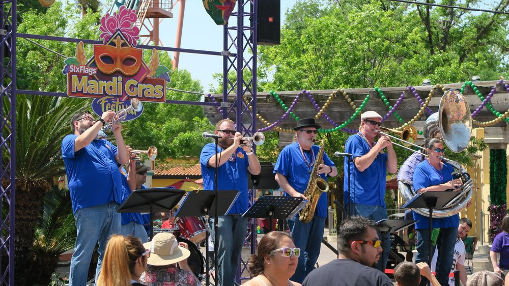 King William Brass Band - • Featured in Los Festivales, authentic New Orleans-style jazz music taking place in the streets of Los Festivales during Mardi Gras Festival.