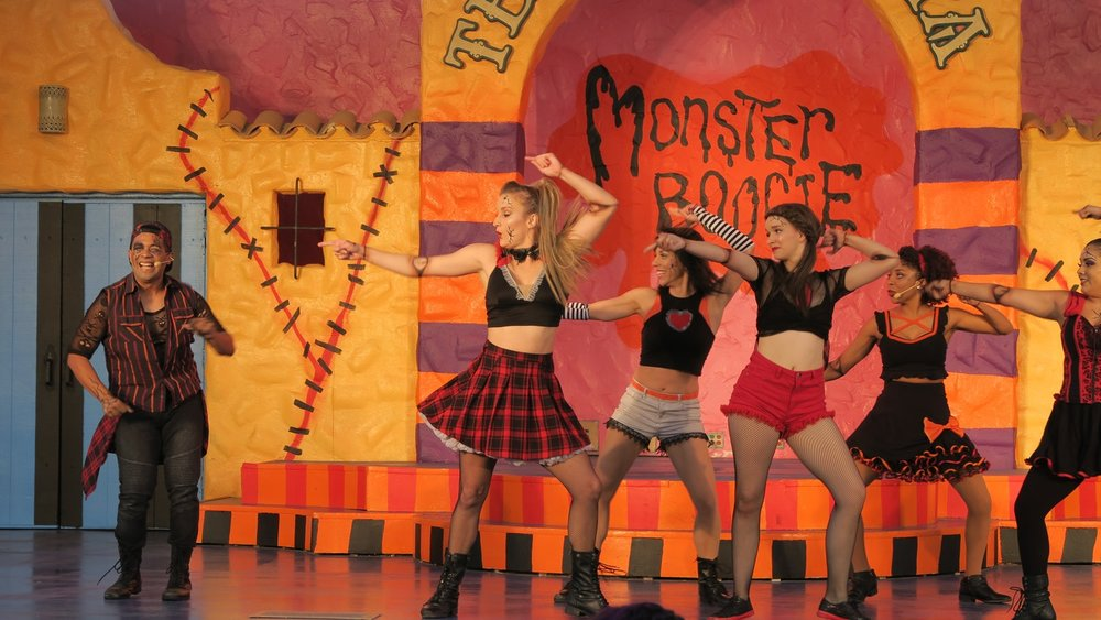 Monster Boogie (NEW) - Monster Boogie is brand new for Fright Fest 2017 and is making its debut inside of Teatro Fiesta. A great show for guests of all ages, this production showcases many groovy hits from the past, including