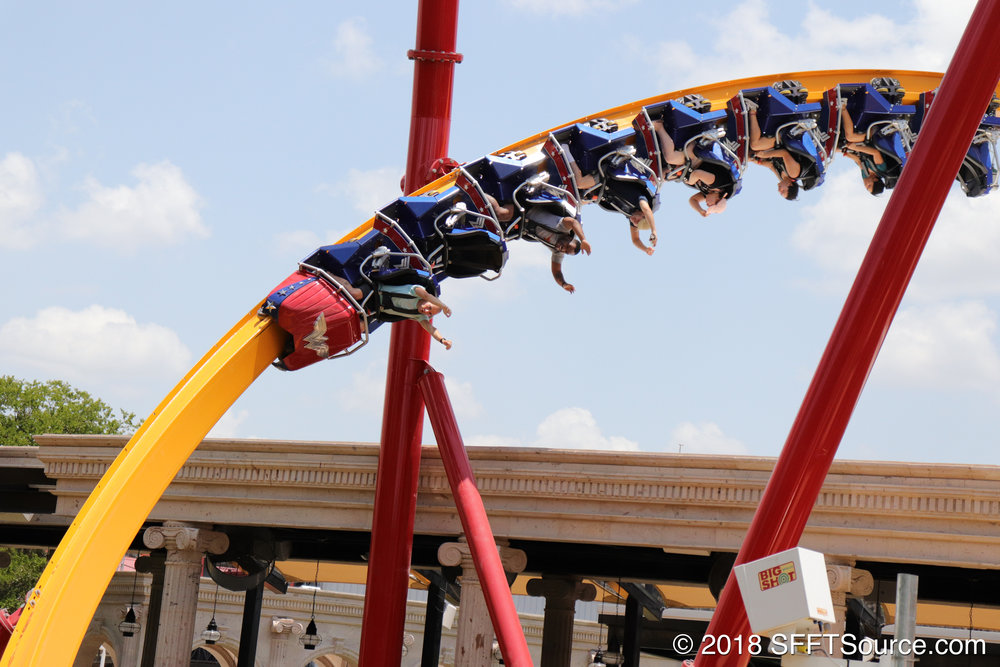 The ride features tons of airtime.