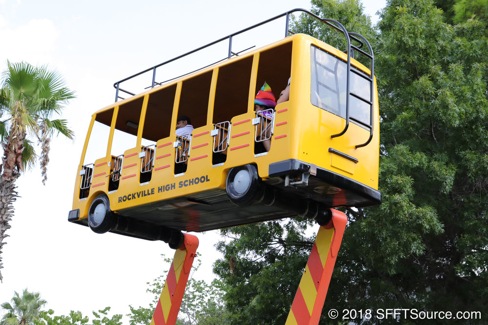 Daffy's School Bus Express is geared towards younger guests.