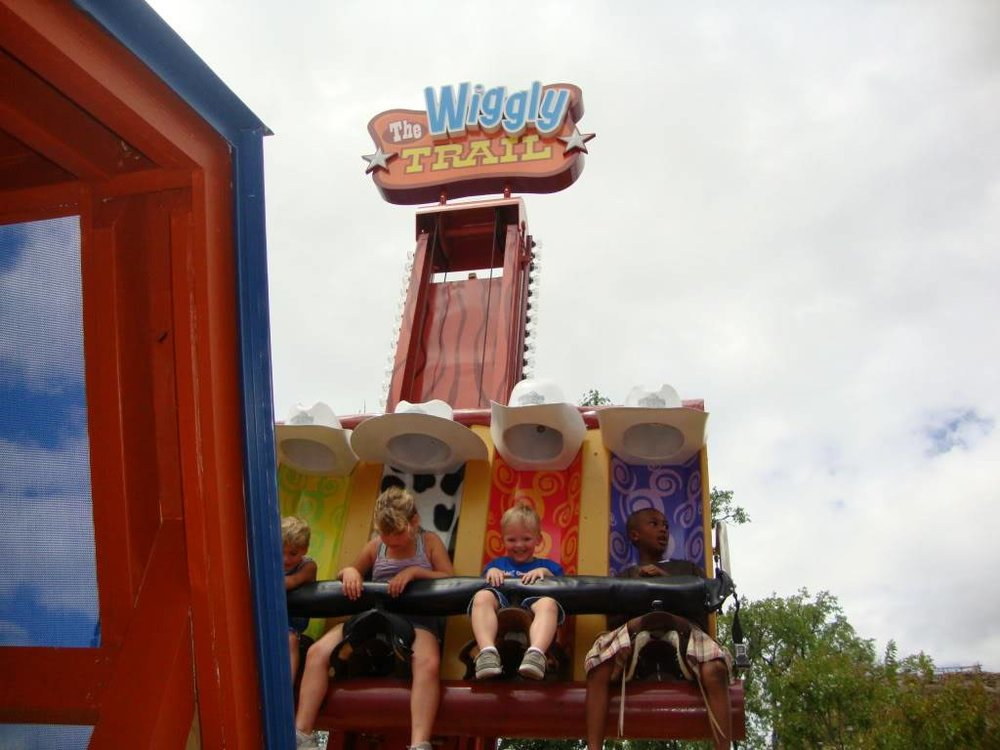 Buckarooz when it was known as the Wiggly Trail Ride during Wiggles World.