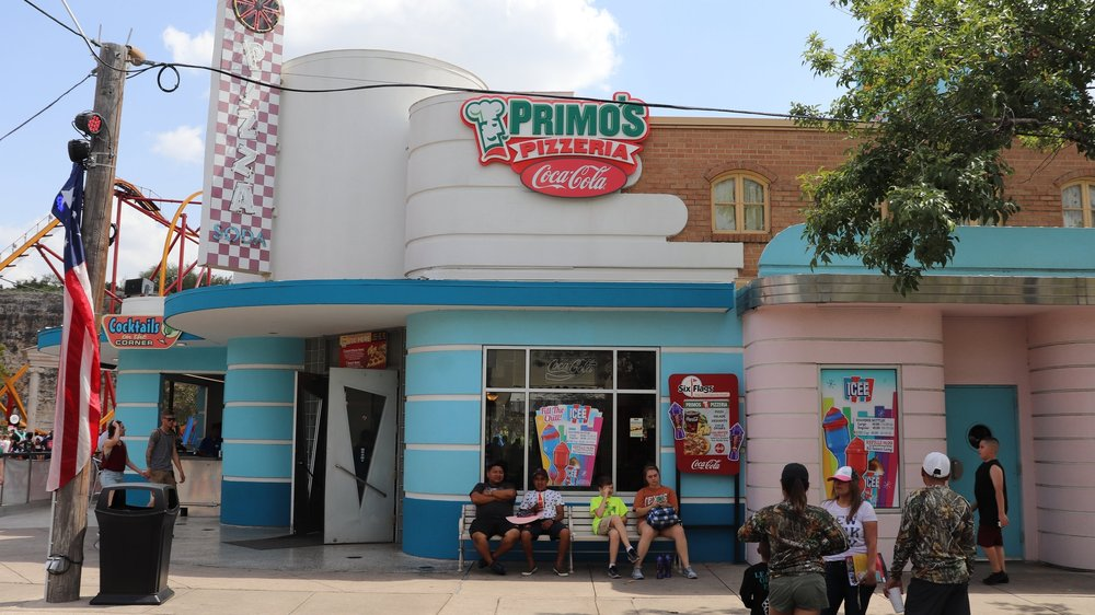 Primo's Pizzeria is located in the Rockville section.