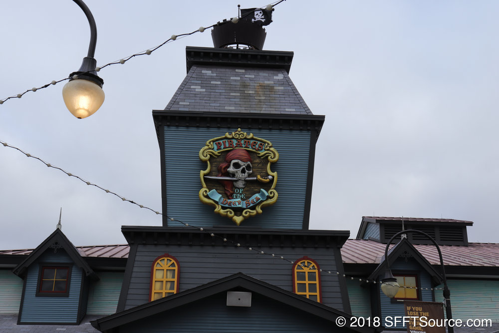 The main structure of Pirates of the Deep Sea.