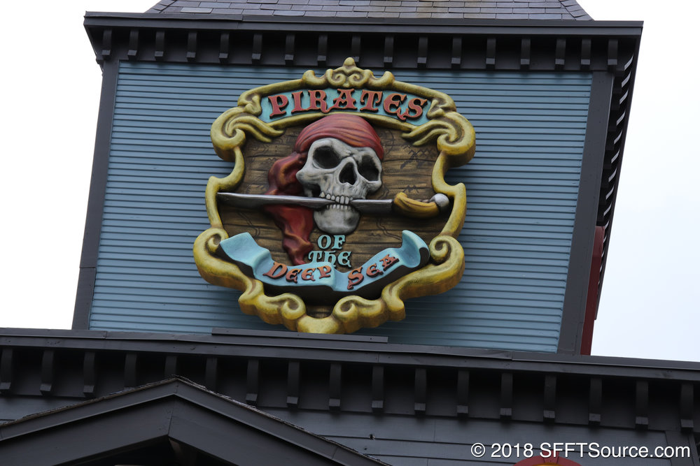 Pirates of the Deep Sea is a dark ride at Fiesta Texas.