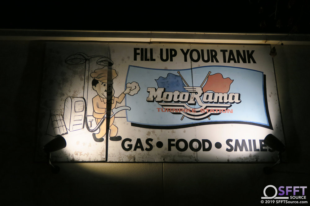 This sign on the back of Candy Storm in Rockville pays homage to the former Motorama Turnpike attraction.