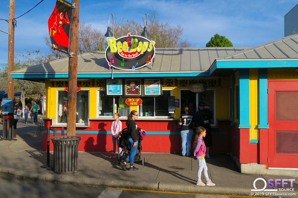 Bee Bop's features a number of Dining Pass snack options.