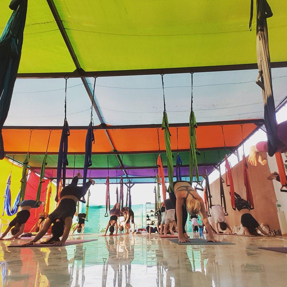 Aerial - Anti-Gravity Yoga or
