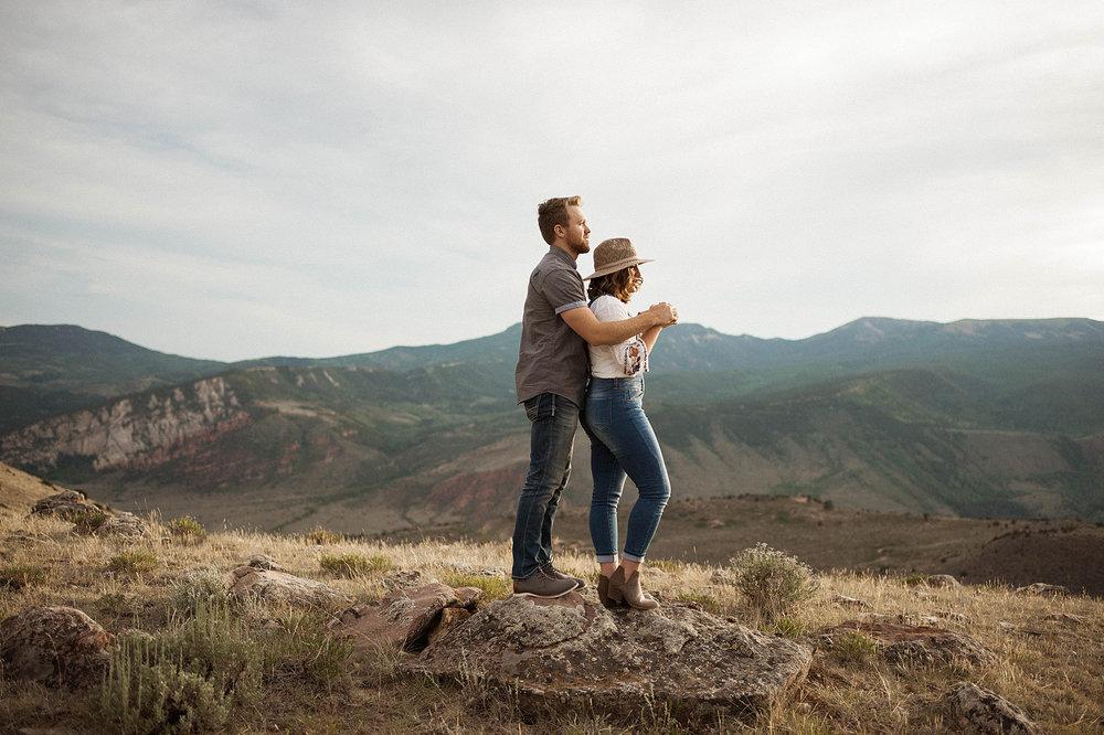 Mountain Couple Session -