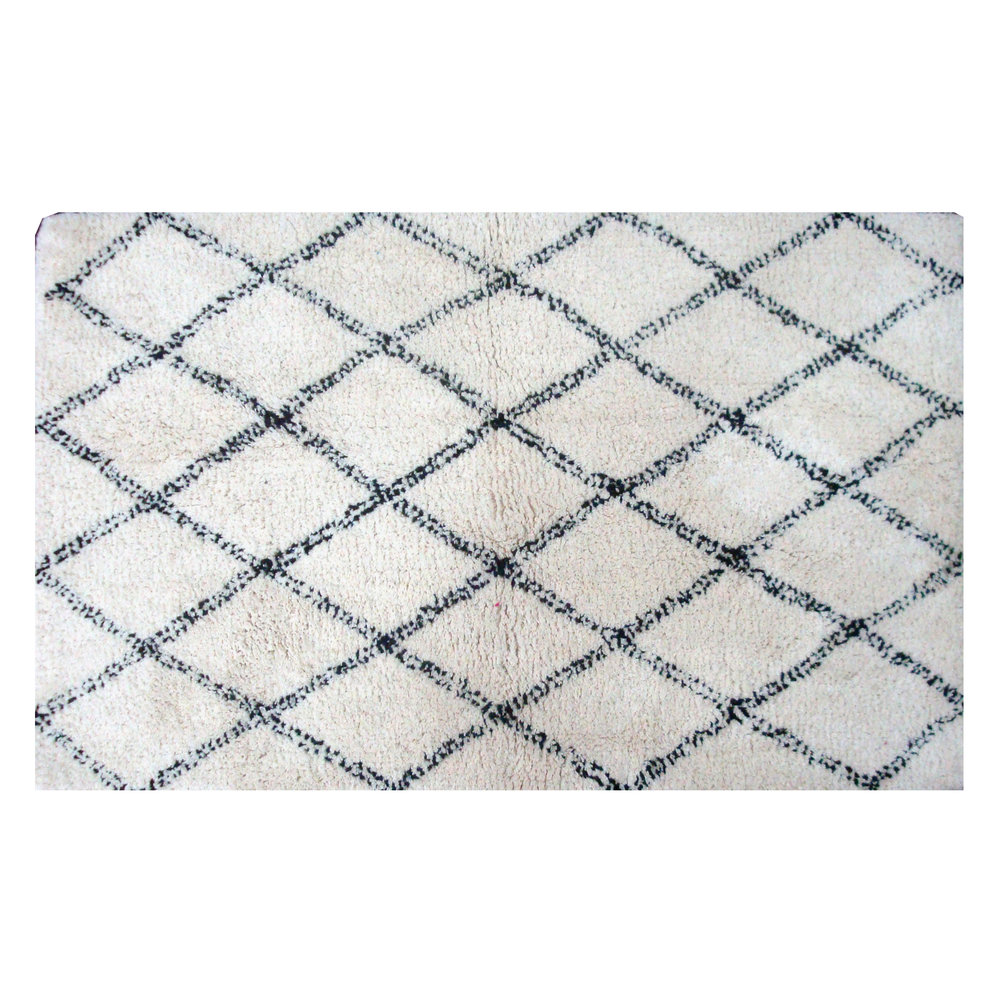 VERKKO - kylpyhuoneen matto   50 x 80 cm, 100 % Cotton   16,95 €