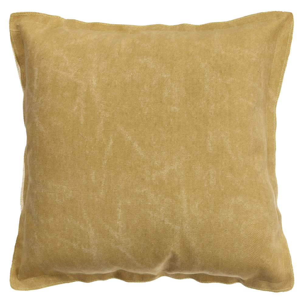 ELOKUU - tyyny, maissi ja tumma nutria   70 % Cotton, 30 % Polyester, 45 x 45 cm   19,95 €