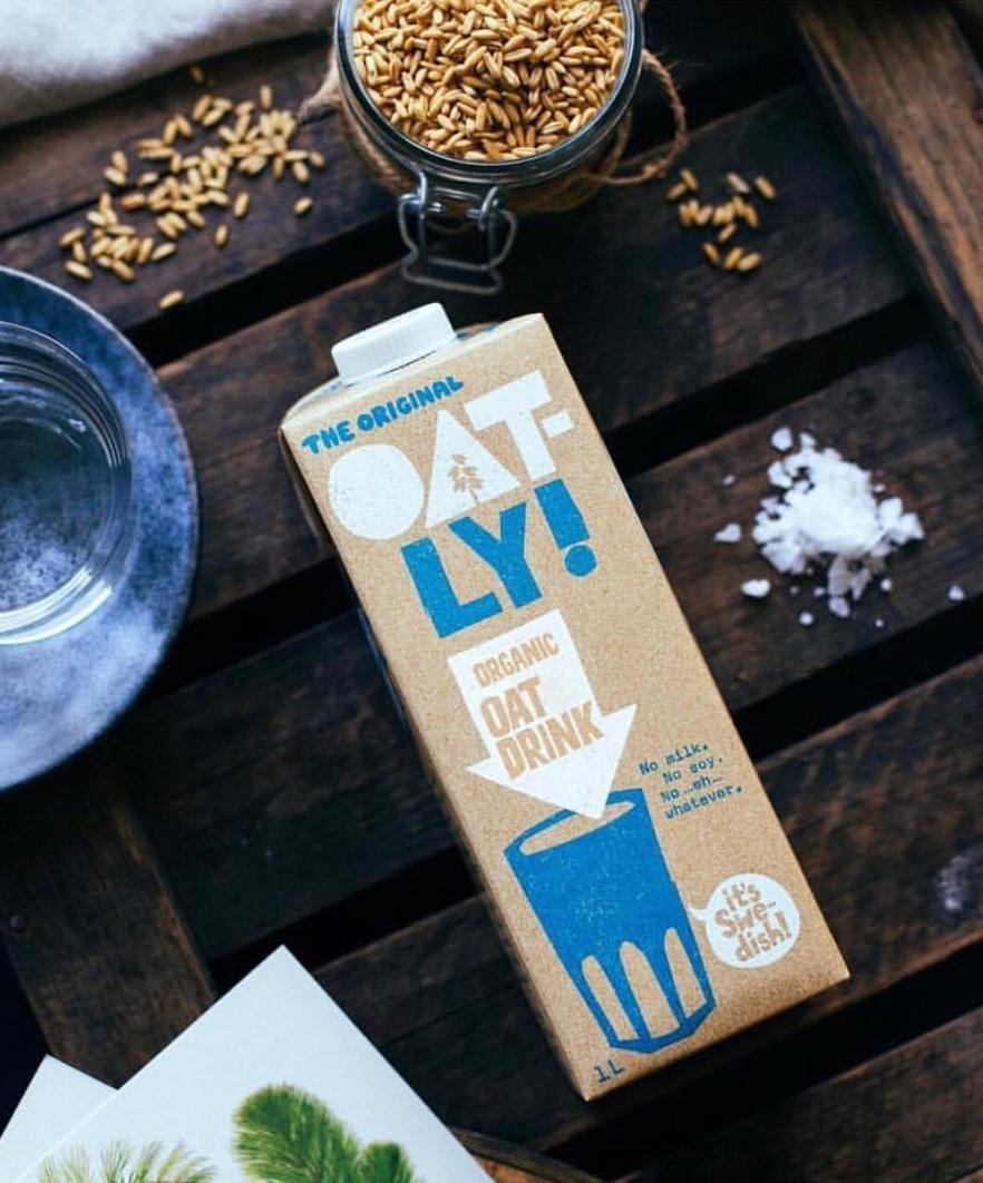 Oatly - Oat milk