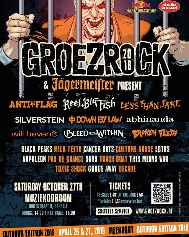 🚨 LAST MINUTE SHOW ANNOUNCEMENT 🚨 ⠀ ⠀ We have been added to the @GROEZROCK line up!⠀ ⠀ Tickets are still available!