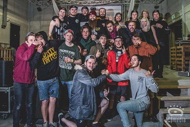 #tbt to our first ever tour we did. It was with @asitisofficial and @trophyeyesmusic. This Sunday we head back out on tour with As It Is starting in Belgium. See you soon 🙌