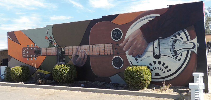 Music Center — 2014   Ramona Music Center • 1045 Main Street Artist: Jason Luper