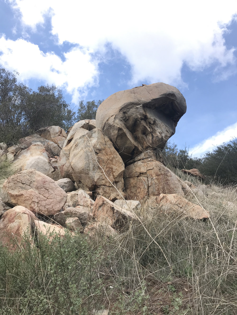 Impressive rock formations may be found throughout the preserve.