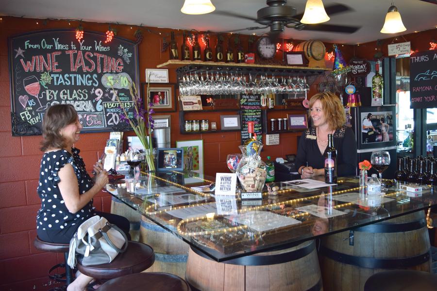 Pamo Valley Tasting Room