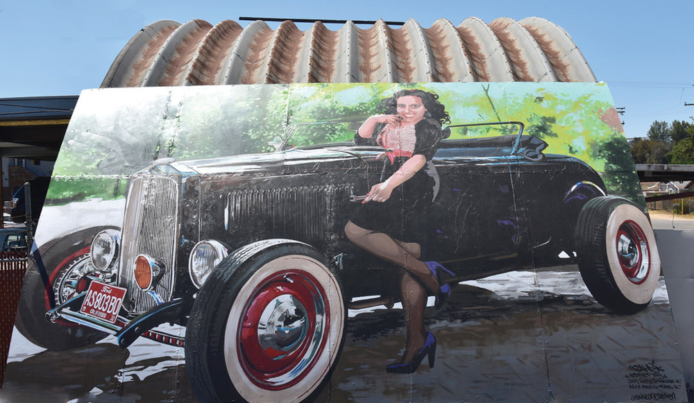 '32 Roadster — 2018  Dave's Auto, Truck & RV Services • 310 13th Street Artist: Saratoga Sake