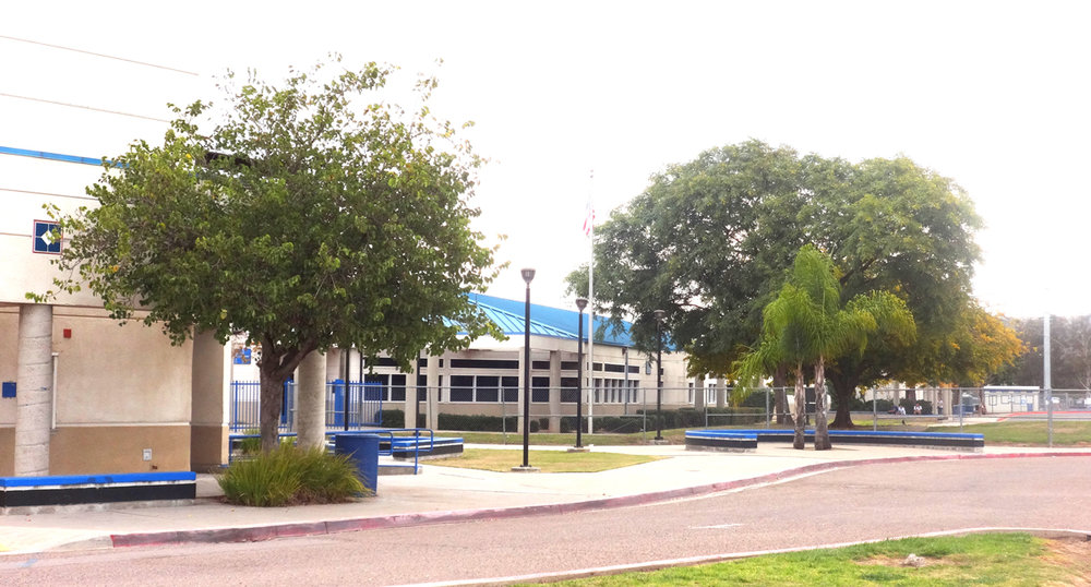 Ramona High School,   Photo by Annette Williams