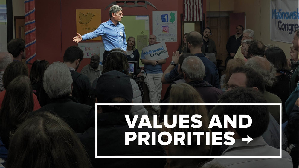 Values and Priorities