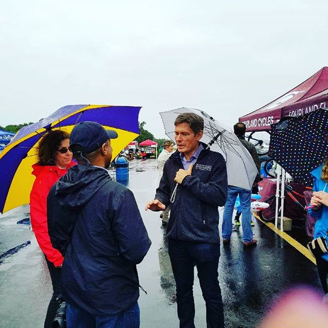 A little rain can't stop the Montgomery Fun Fest! #rainorshine #flipthehouse