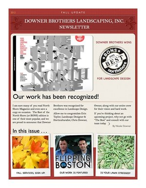 Best of Northshore 2012 Newsletter