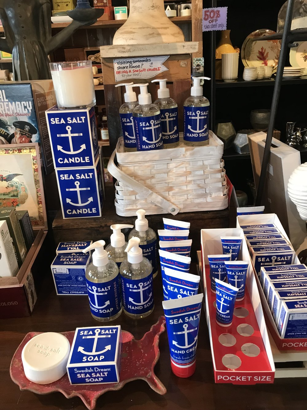 "Kala's ""Swedish Dreams Sea Salt"" Soaps & Lotions"