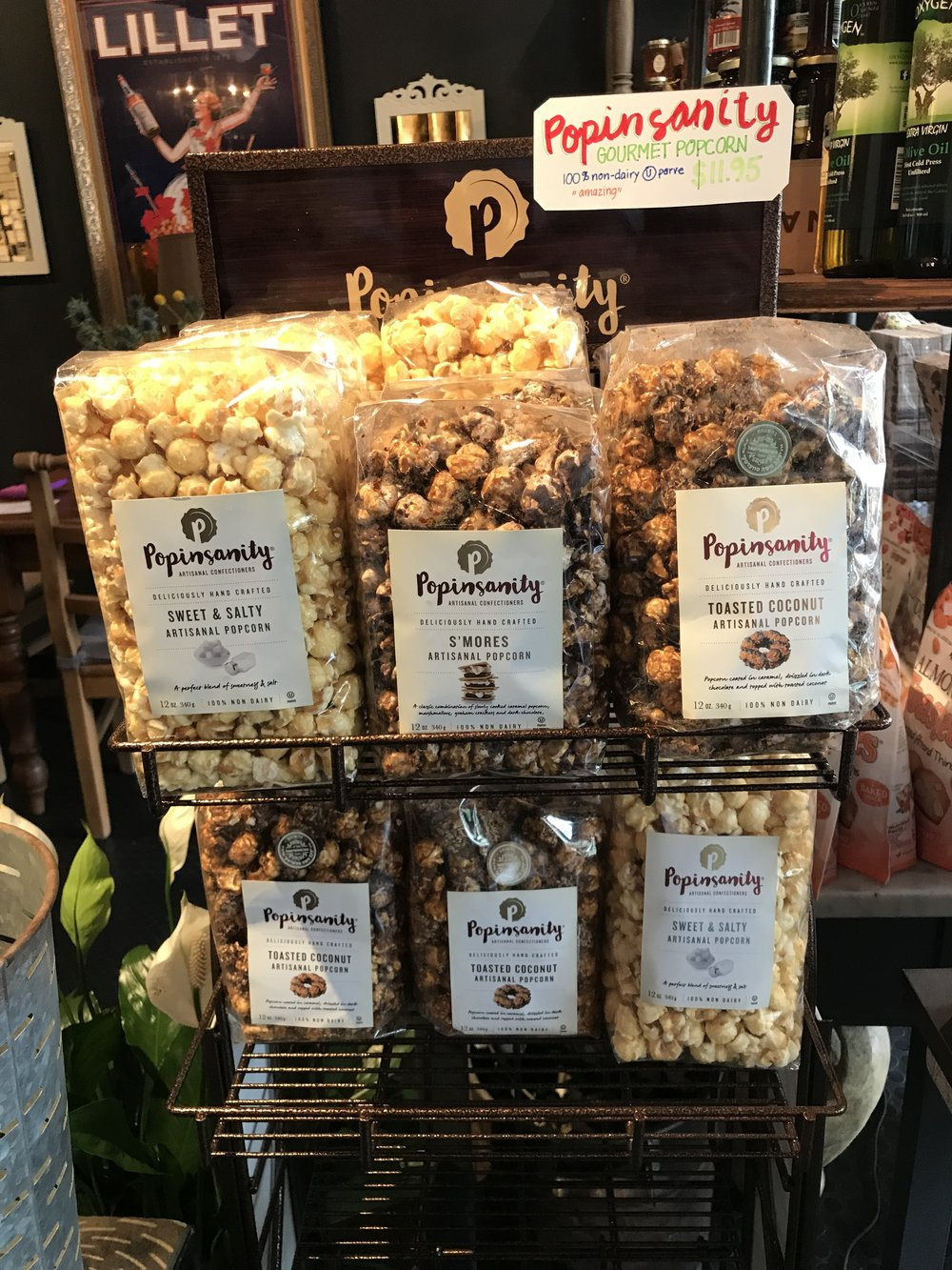 Popinsanity Gourmet Popcorn