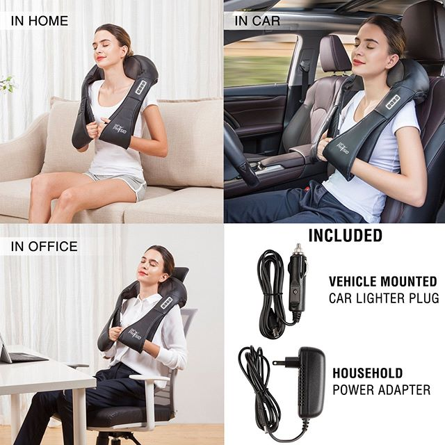 Shiatsu Massager Neck & Shoulder helps to relief from stiffness, soreness of muscles, reduced stress levels, increased relaxation, decreases in inflammation, improved blood circulation, muscle ache reduction and eliminate Fatigue. For Order! Go to at www.medsensemassagers.com or Contact Us: (702) 601-8517 . . . . #massager #massage #electronicmassager #massagetherapy #massagetherapist #massagetime #massagelife #massages #painrelief #stressrelief #stressfree #painfree #focused #shiatsu #poratble #durable #relax #massagetherapistforlife #medsensemassagers