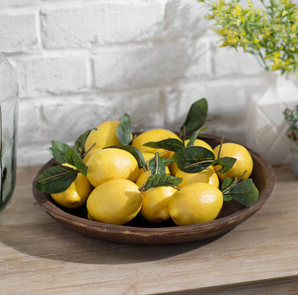Kirkland's - Decorative Lemons, Set of 12