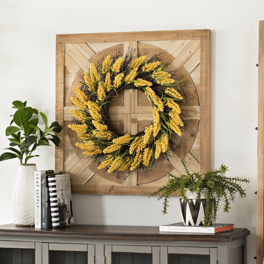 Kirkland's - Marigold Berry Wreath