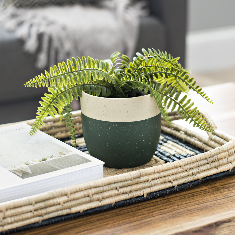 Kirkalnd's - Green Hunter Ceramic Planter